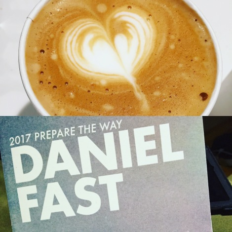 One of my learnings on the Daniel Fast: I can live without caffeine.